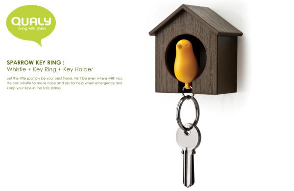 sparrow key ring